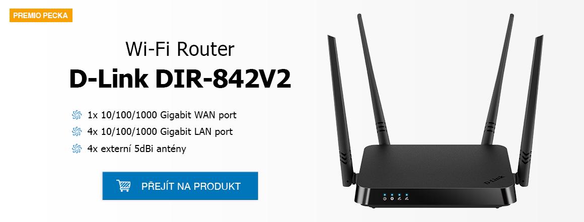 D-Link DIR-842V2 Wireless AC1200 Wi-Fi Gigabit Router