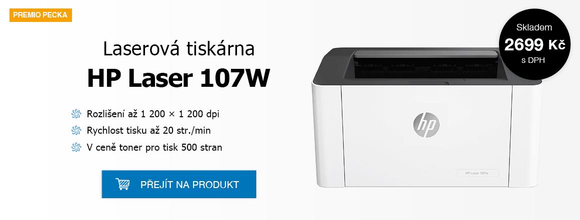 HP Laserová tiskárna 107W