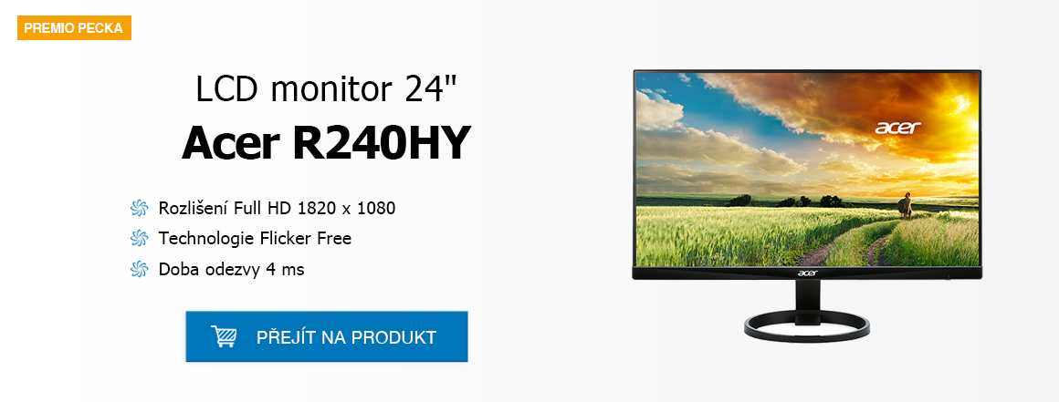 """LCD 24"""" Acer R240HY"""