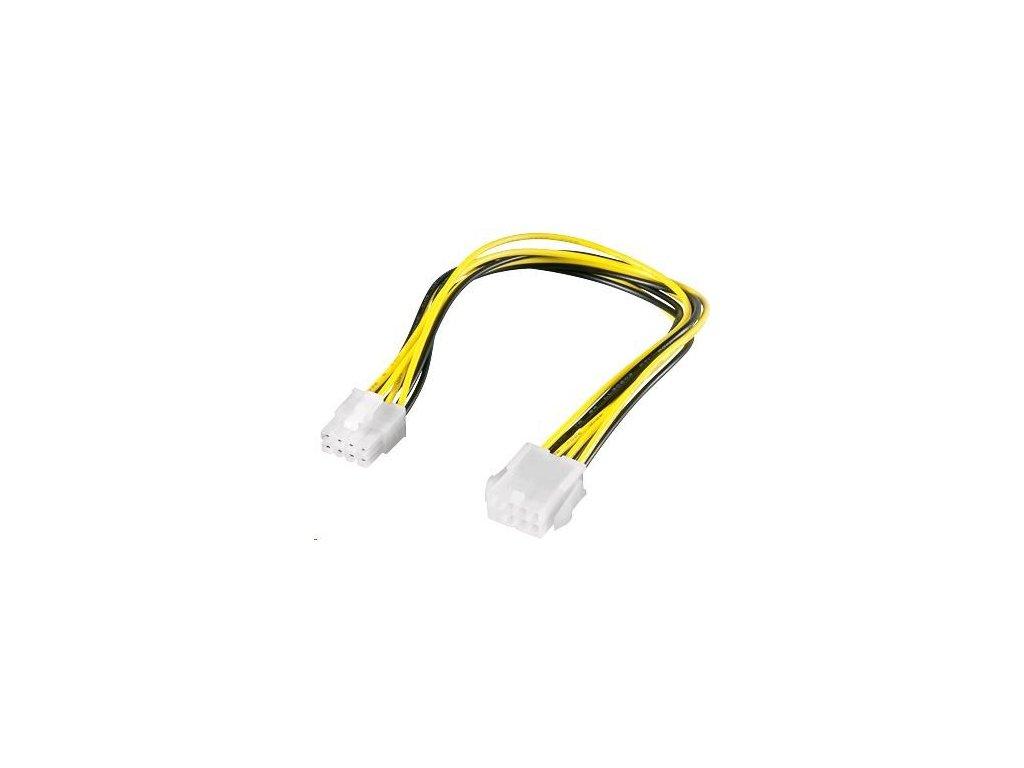 PREMIUMCORD Kabel napájecí interní 8pin, prodloužení 28cm