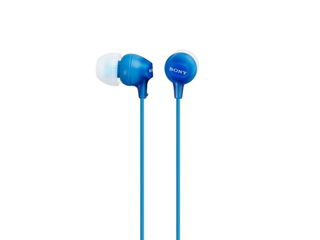 SONY sluchátka MDR-EX15LP, modré