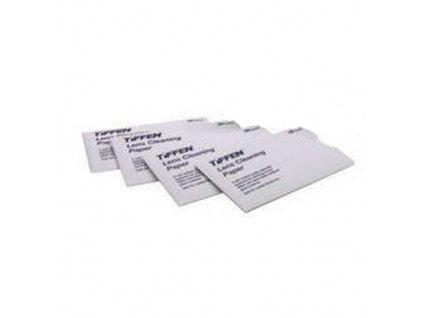 Čisticí sada Tiffen čistící papírky na optiku - 50 papírků v balení
