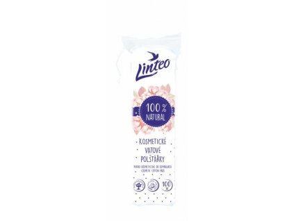 Odličovací polštářky Linteo SATIN 100 ks