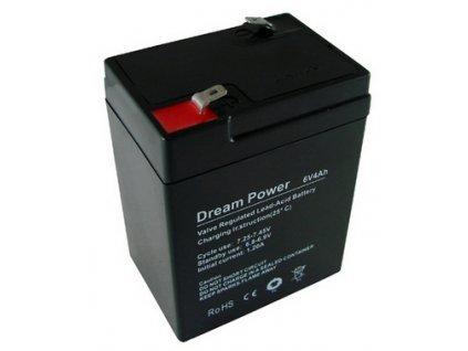 Baterie olověná 6V / 4,0Ah Xtreme / Dreampower gelový akumulátor