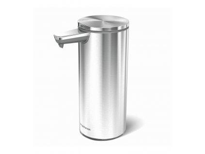 Dávkovač Simplehuman mýdla bezdotykový – 266 ml, kartáčovaná nerez ocel, dobíjecí