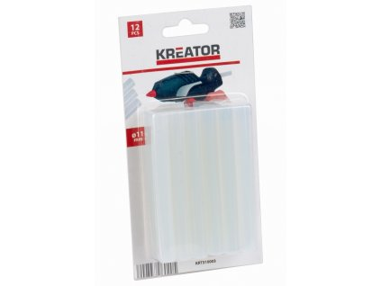 Lepící tyčinky Kreator KRT310003 11 mm, 12ks