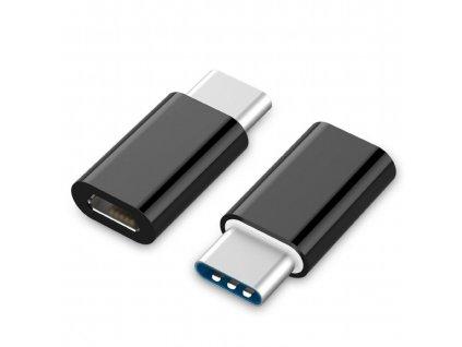 Adaptér Gembird USB 2.0 Type-C (CM/microUSB-F)