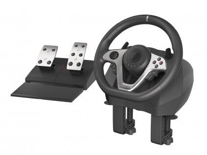 Herní volant Genesis Seaborg 400, multiplatformní pro PC,PS4,PS3,Xbox One, Xbox 360,N Switch