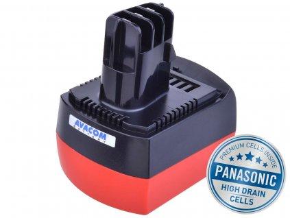 Baterie AVACOM METABO BSZ 6.25473 Ni-MH 12V 3000mAh, články PANASONIC
