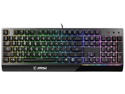 Klávesnice MSI Gear herní Vigor GK30/ drátová/ RGB podsvícení/ USB/ CZ+SK layout