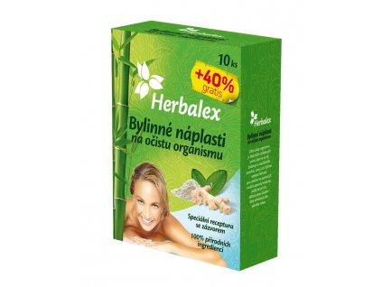 Herbalex bylinné detoxikační náplasti 10 ks