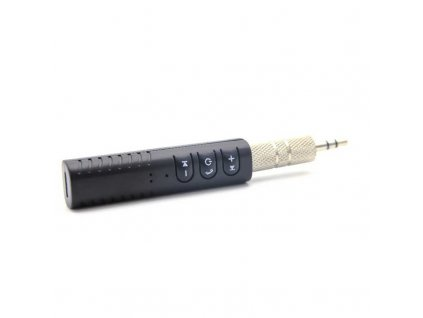 Tactical Bluetooth Oválný Receiver Jack 3,5mm Black
