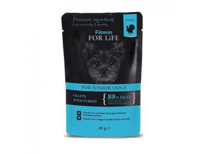 Fitmin FFL dog pouch puppy turkey 85g