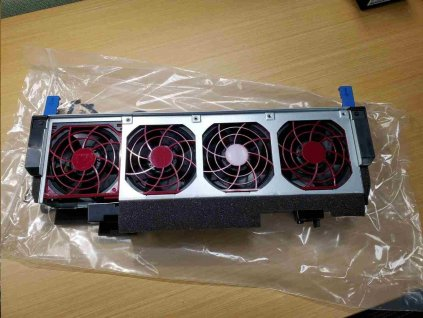 HPE ML350 Gen10 Redundant Fan Cage Kit with 4 Fan Modules (required for 2CPU/P816i-a/2cages+MBay/M.2/NVMe/GPU)