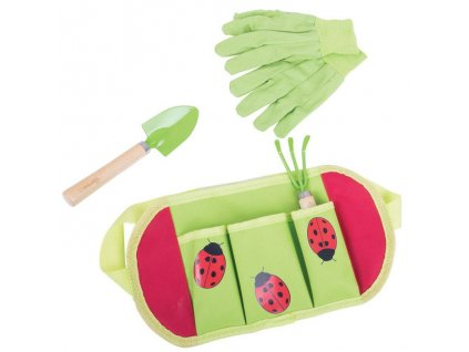Zahradní nářadí Bigjigs Toys dětské, beruška