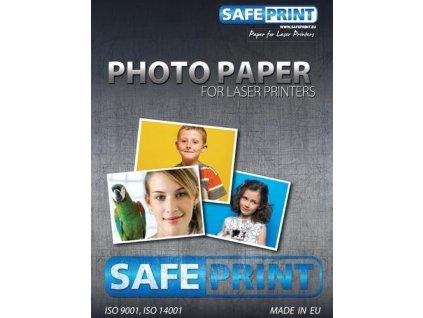 SAFEPRINT(2030061022) fotopapír pro laserové tiskárny lesklý 135g/m2 A4 10 listů v balení