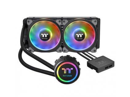 THERMALTAKE Floe DX RGB 240 TT Premium Edition komplet vodního chlazení CPU, chladič 270mm s 2x ventilátorem 120mm (pro INTEL a AMD)