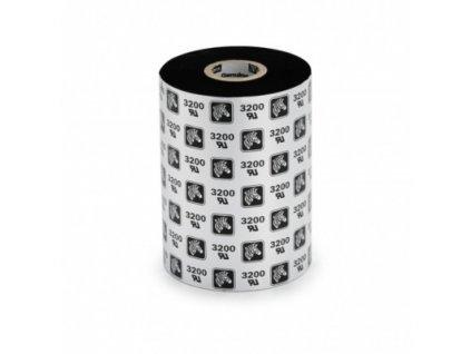 Wax Ribbon, 110mmx74m, 2300; Standard, 12mm core