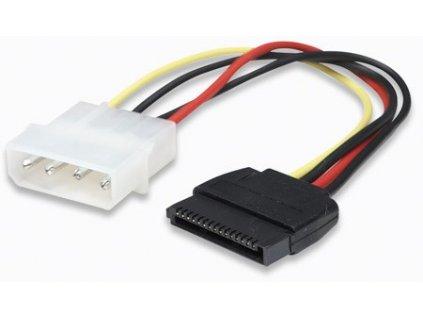 MANHATTAN kabel SATA napájecí, 4 Pin to 15 Pin, 16 cm