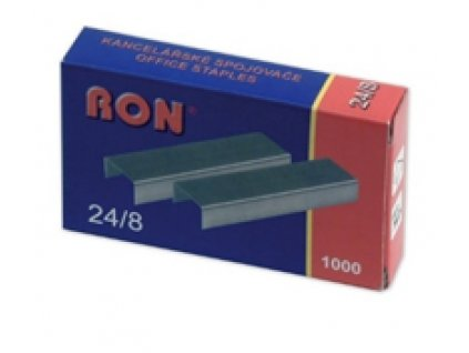 RON Spojovač 24/8 1000ks Ron