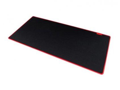 Modecom VOLCANO EREBUS BLACK herní podložka pod myš a klávesnici, černá