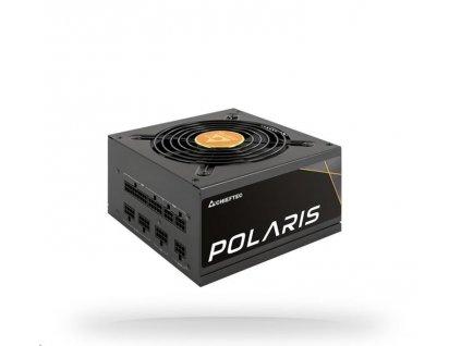 CHIEFTEC zdroj Polaris Series, PPS-650FC, 650W, ATX-12V V.2.4, PS2, 12cm fan, Active PFC, Modular, 80+ Gold