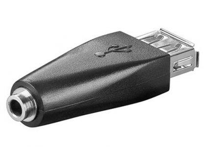 Redukce USB A(F) -> jack 3,5(F)
