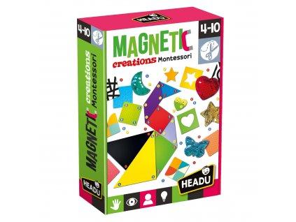 Hračka Headu Montessori magnetické výtvory