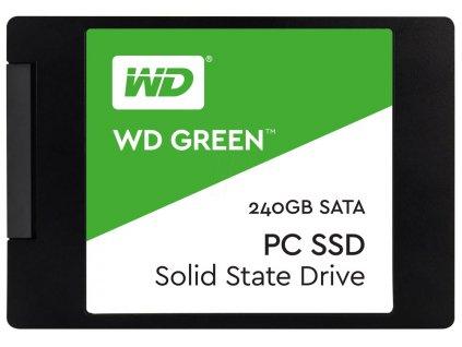 SSD 2,5'' 240GB WD Green 3D NAND SATAIII 7mm