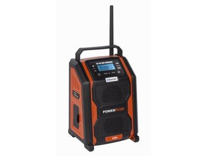 Rádio Powerplus POWDP8060 20 V / 220 V bez baterie