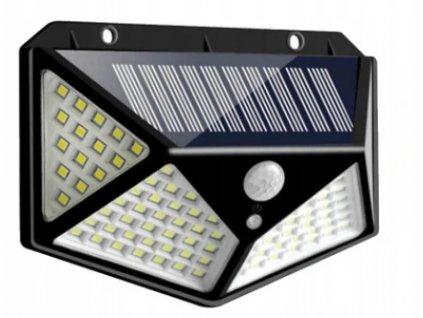 LED solární lampa 70+30 SMD se senzorem