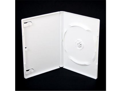 OBAL NA DVD 14MM OMEGA 1 WHITE