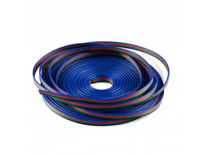 Kabel TLE plochý pro RGB pásek (balení 100m)