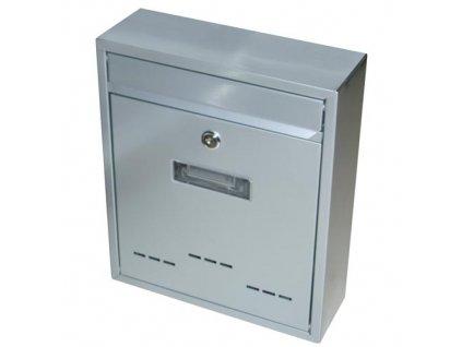 Schránka poštovní RADIM malá 310 x 260 x 90 mm šedá