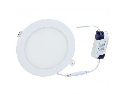 LED panel KRUHOVÝ BRGD0106 225x225x17mm vestavný - 18W - 230V - 1480Lm - neutrální