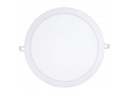 LED panel KRUHOVÝ BRGD0109 - 300x300x17mm vestavný - 24W - 230V - 1900Lm - neutrální