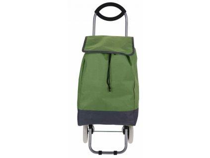 Taška nákupní na kolečkách zelená EXCELLENT KO-116000140ze