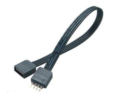 AKASA kabel prodlužovací pro RGB LED pásek, 20 cm