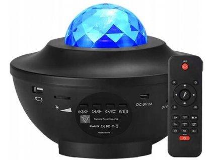 LED hvězdný projektor - noční obloha