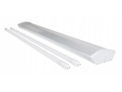 LED trubicové svítidlo T8 PRISMATIC - 2x120cm trubice - neutrální bílá