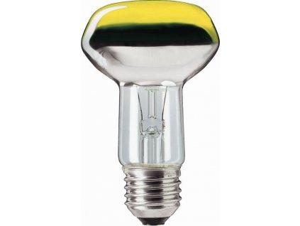 PHILIPS Žárovka 40W E27 reflektorová R63 žlutá