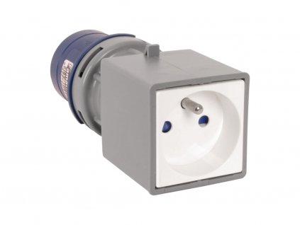 FAMATEL Adaptér 13910-F IP40 CEE zásuvka s kolíkem