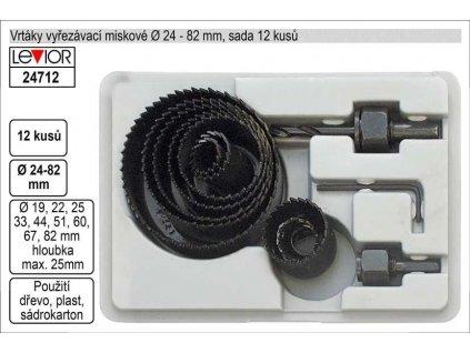INNA Sada korunkových fréz RD01-3018, 12 ks