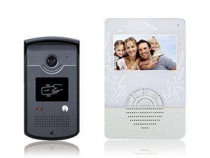 CONNECT Sada SBV 705M4 barevného videotelefonu