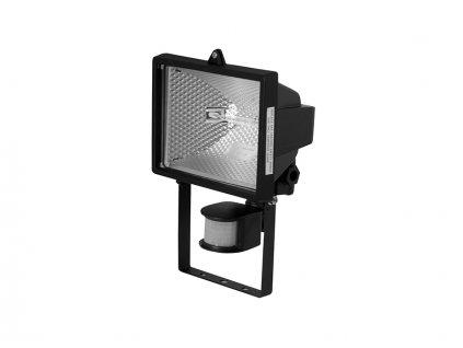 PANLUX Svítidlo halogenové 500W reflektor černá s čidlem