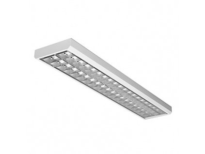 MODUS Svítidlo zářivkové LLX 2x36 W hliník, elektronický předřadník
