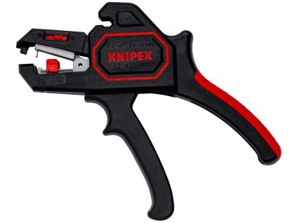 KNIPEX 12 62 180 Kleště odizolovací, samonastavitelné