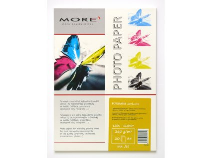 Armor fotopapír Exclusive 260g ink glossy 20xA4