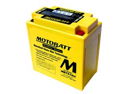 Baterie Motobatt MBTX16U 19Ah, 12V, 4 vývody
