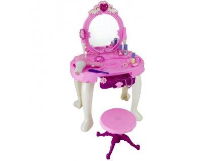 Hračka G21 Kosmetický stolek BEAUTIFUL s fénem